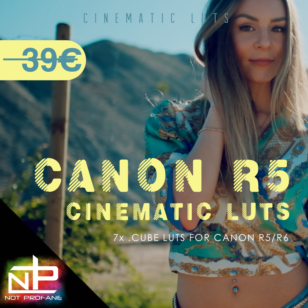 Canon EOS R5 Cinematic Luts