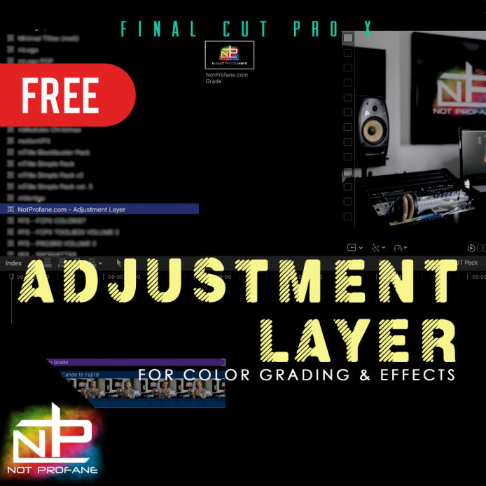 Adjustment Layer FCPX